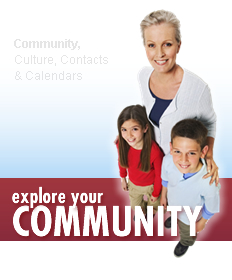 Explore your Community | Community, Culture, Contacts & Calendars